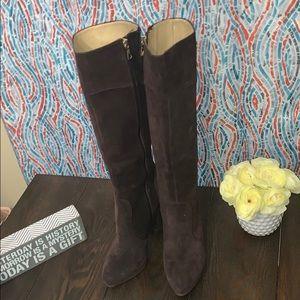 BCBGMAXAZRIA Charlize Stone Suede Boots